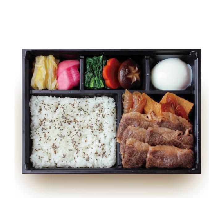 佐渡牛のすき焼き弁当¥2,000
