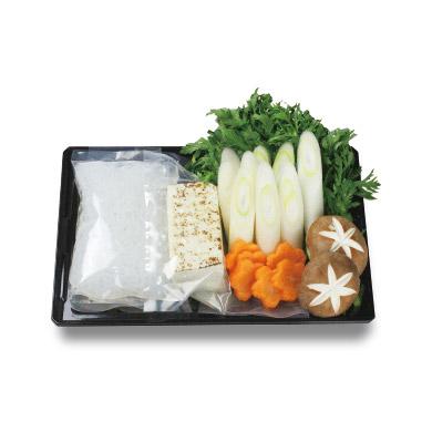 すき焼き野菜盛り 1人前¥490