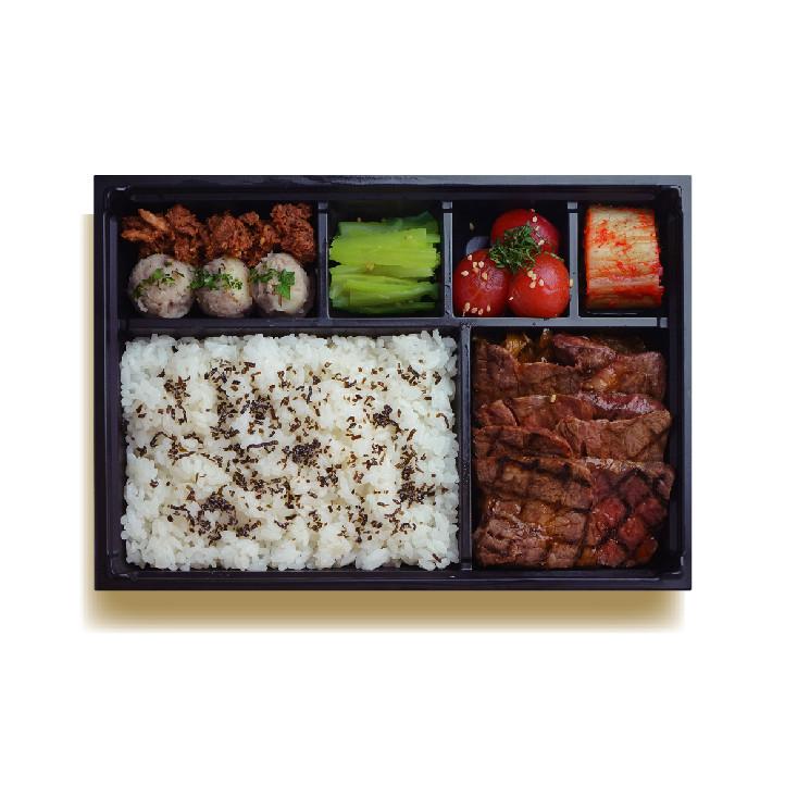 佐渡牛の極上カルビ弁当¥2,000