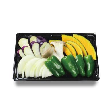焼野菜セット(1人前)¥350