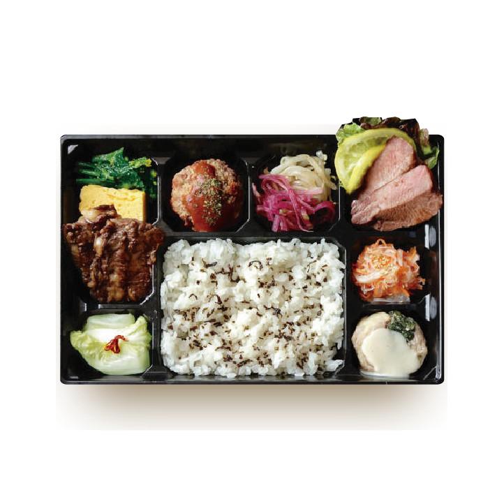 焼NIQ幕の内弁当¥1,500