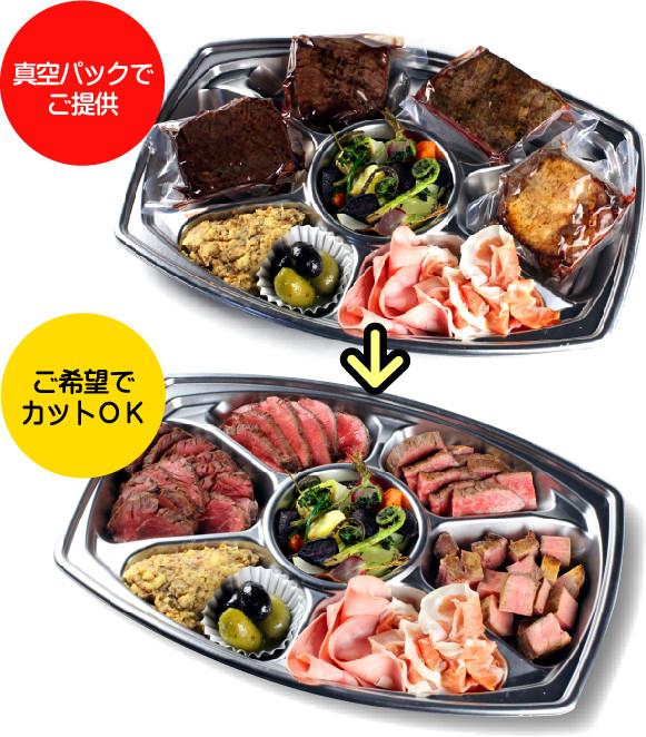 NIQプレミアムオードブル 1人前¥1,500
